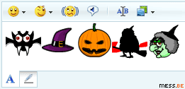 more msn halloween emoticons