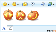 halloween emoticons for windows live messenger