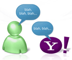 yahoo messenger and windows live messenger